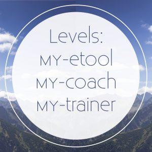 De levels werken met MY-etool en MY-coach