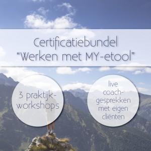 Certificatiebundel werken met MY-etool